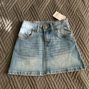 Cute girls jean skirt